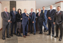 Photo of Kreindler partners in the reception area or Kreindler & Kreindler