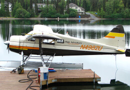 Earlier photo of de Havilland Canada DHC-2 Beaver float plane that crashed in Soldotna, Alaska on July 31, 2020