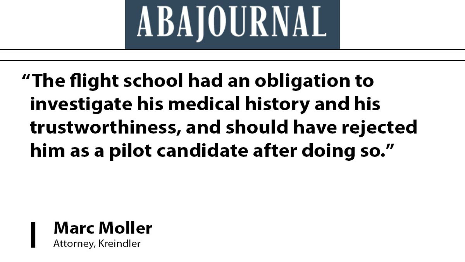 Attorney Marc Moller discusses pilot who intentionally crashed Germanwings flight
