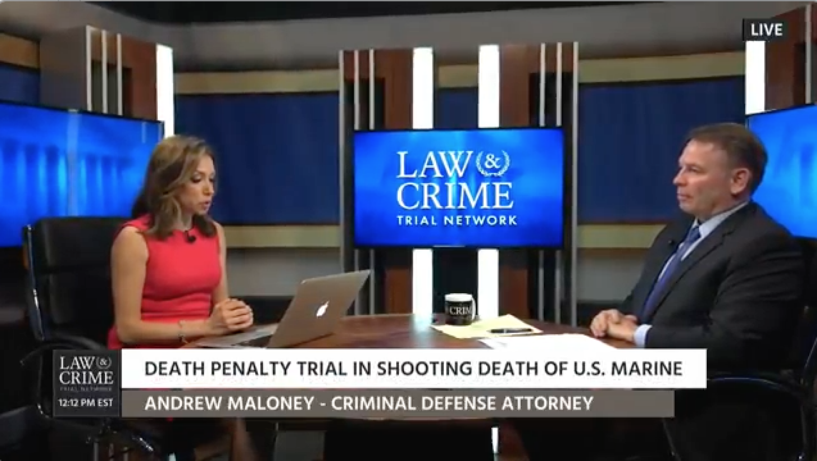 Partner Andrew J. Maloney offers analysis on murder trial of U.S. Marine