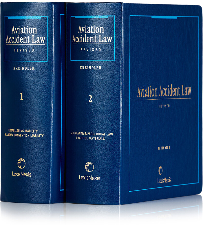 Aviation Accident Law Books